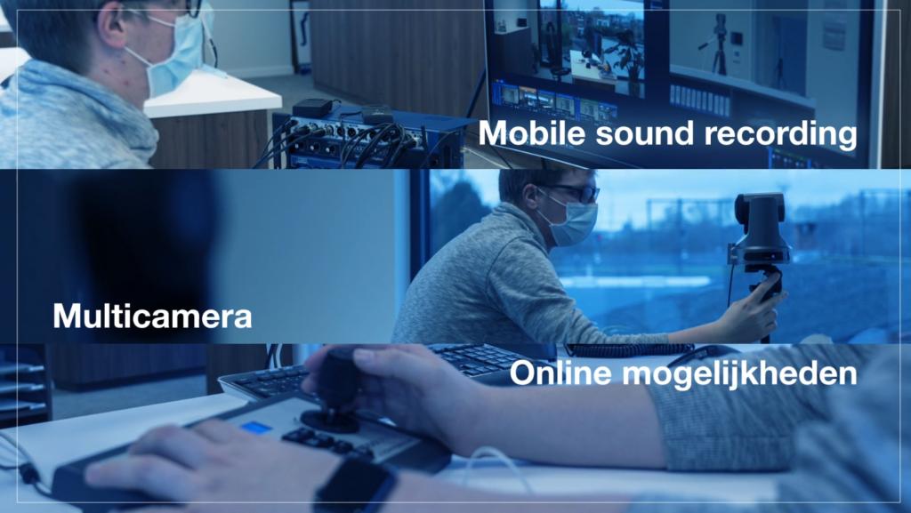 Webinar op locatie - mobile sound recording - multi-camera - online mogelijkheden